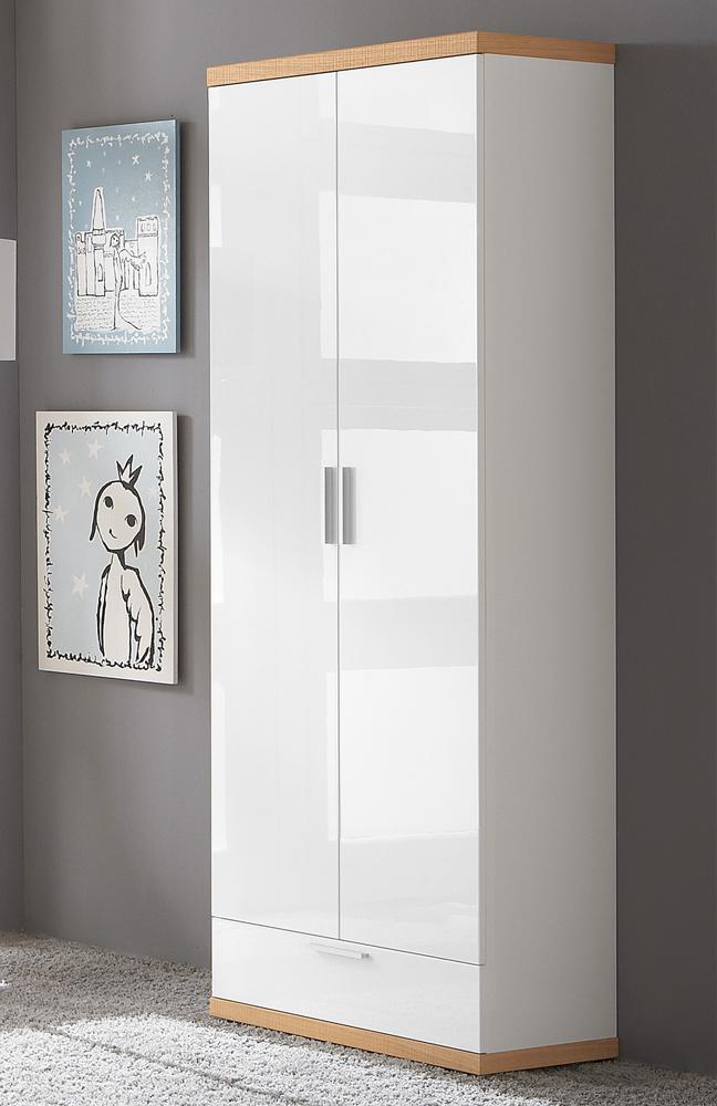 burgos garderobe wei eiche s gerau von voss m bel letz. Black Bedroom Furniture Sets. Home Design Ideas