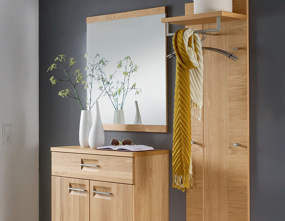 voss m bel garderobe montana in wildeiche von voss m bel letz ihr online shop. Black Bedroom Furniture Sets. Home Design Ideas
