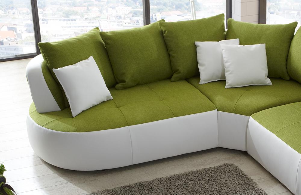 new look m bel bali eckcouch gr n wei m bel letz ihr online shop. Black Bedroom Furniture Sets. Home Design Ideas