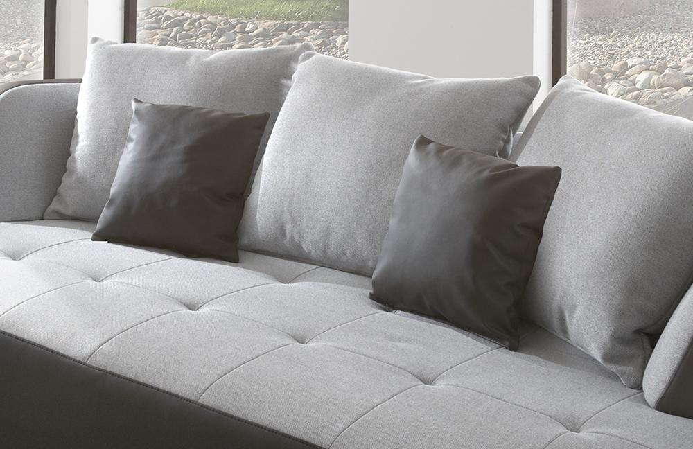 new look m bel bali megasofa in grau m bel letz ihr online shop. Black Bedroom Furniture Sets. Home Design Ideas