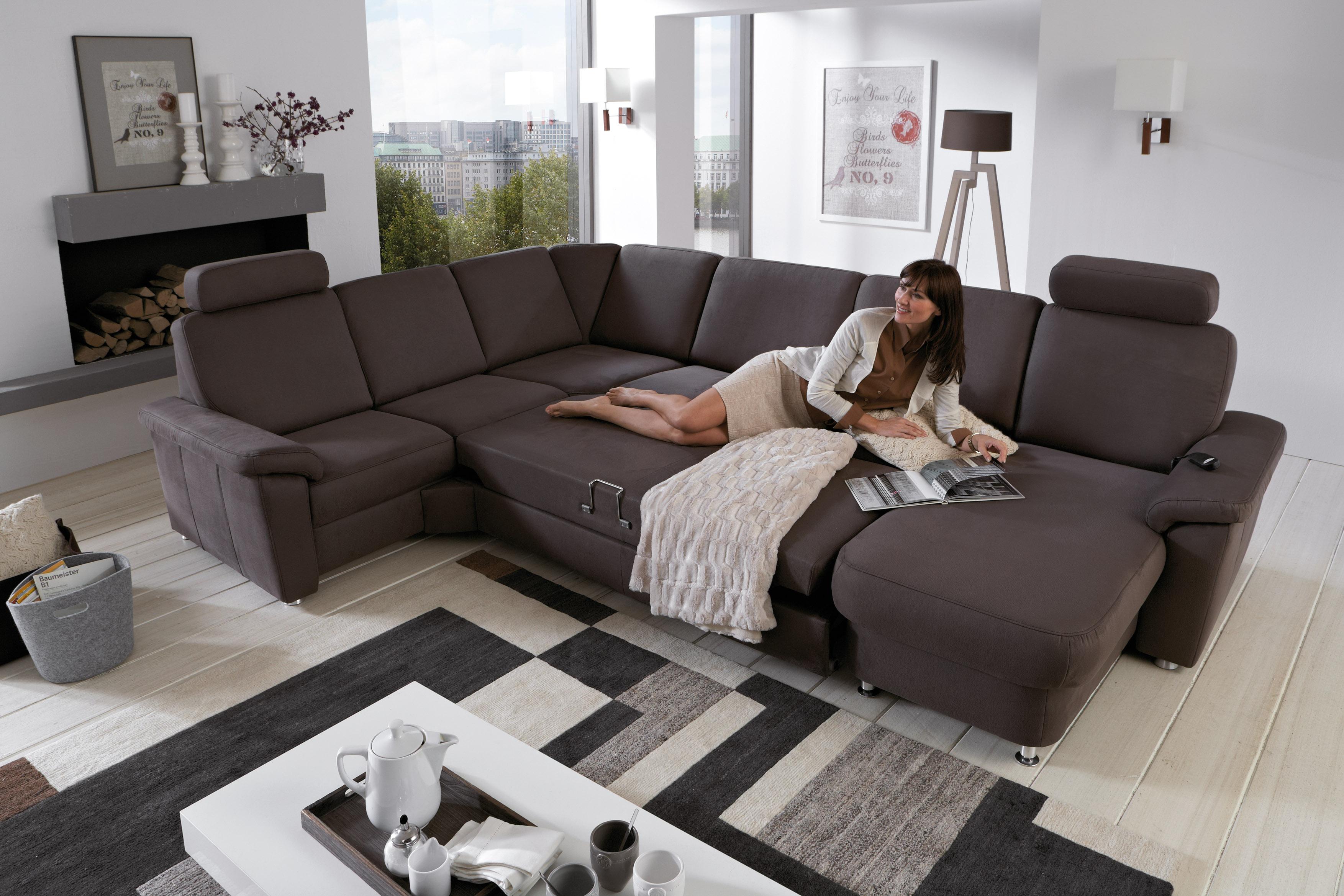 zehdenick polsterm bel wohnlandschaft triest braun m bel letz ihr online shop. Black Bedroom Furniture Sets. Home Design Ideas