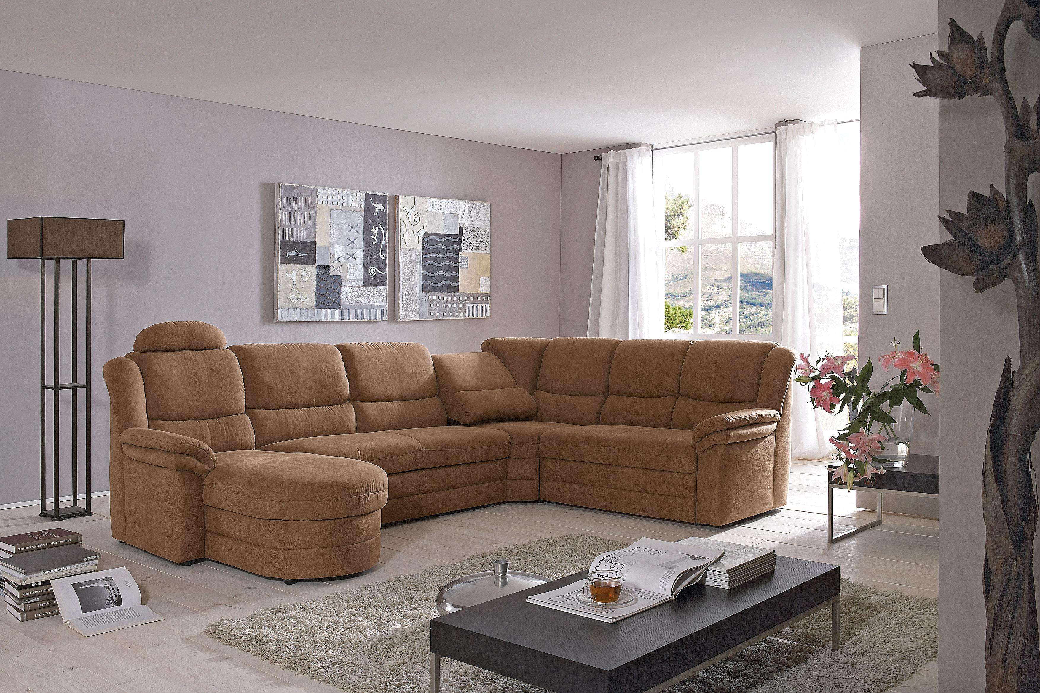 kentucky wohnlandschaft braun von polipol polsterm bel. Black Bedroom Furniture Sets. Home Design Ideas