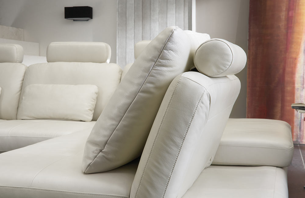 polinova terzo l ledercouch wei m bel letz ihr online. Black Bedroom Furniture Sets. Home Design Ideas