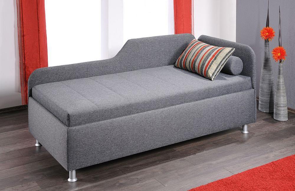 oschmann liege star modern in grau l m bel letz ihr online shop. Black Bedroom Furniture Sets. Home Design Ideas