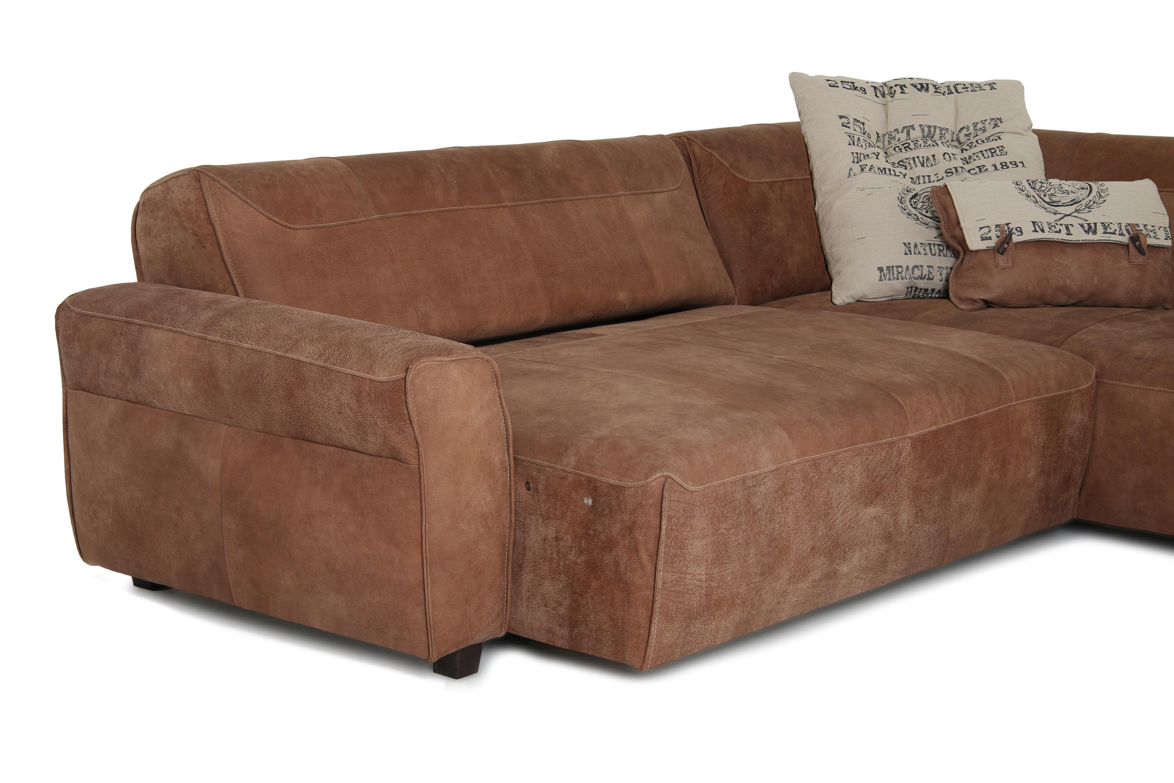 ledersofa braun sale raum und m beldesign inspiration. Black Bedroom Furniture Sets. Home Design Ideas