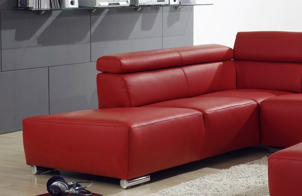 ultsch roma ledersofa rot m bel letz ihr online shop. Black Bedroom Furniture Sets. Home Design Ideas