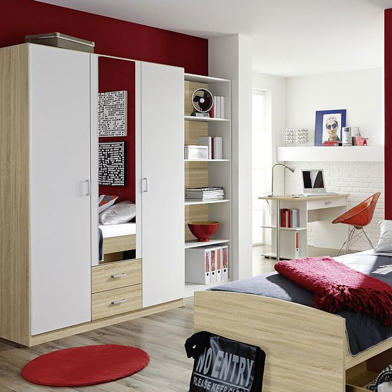 rauch point jugendzimmer wei eiche m bel letz ihr online shop. Black Bedroom Furniture Sets. Home Design Ideas
