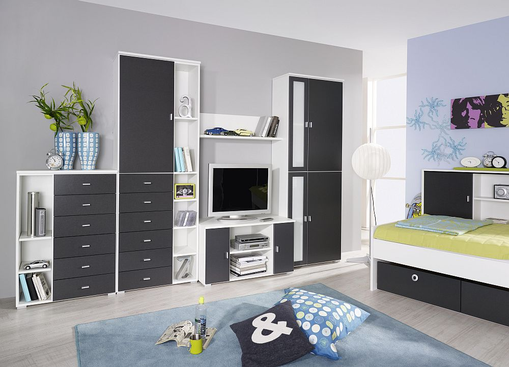 rauch chica jugendzimmer grau wei m bel letz ihr online shop. Black Bedroom Furniture Sets. Home Design Ideas