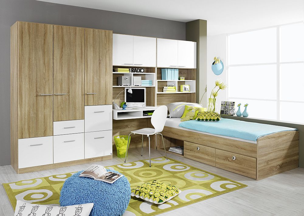 jugendzimmer cody rauch wei sonoma eiche m bel letz ihr online shop. Black Bedroom Furniture Sets. Home Design Ideas