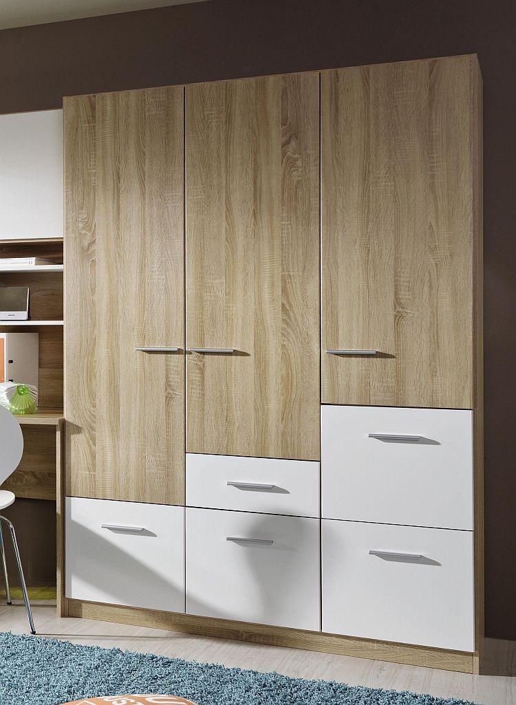 jugendzimmer cody von rauch sonoma eiche wei m bel letz ihr online shop. Black Bedroom Furniture Sets. Home Design Ideas