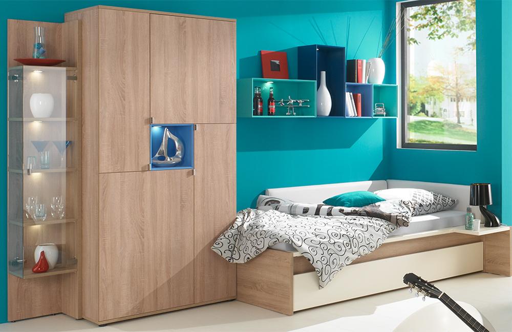 Rudolf Jugendzimmer Chatroom Eiche Blau M Bel Letz Ihr: jugendzimmer blau