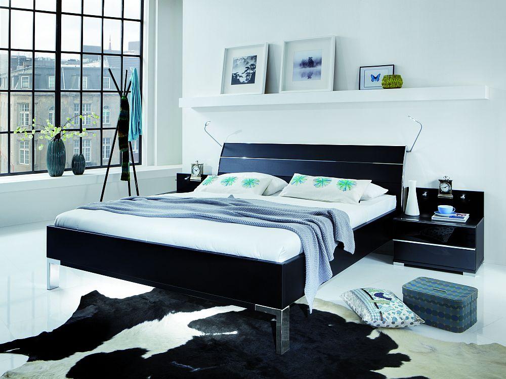 schlafzimmer loft wesley von wiemann in schwarz m bel. Black Bedroom Furniture Sets. Home Design Ideas