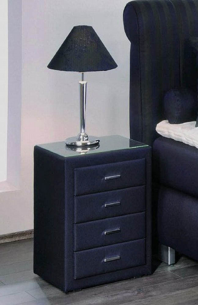 boxspringbett mit motor prestige von oschmann in blau. Black Bedroom Furniture Sets. Home Design Ideas