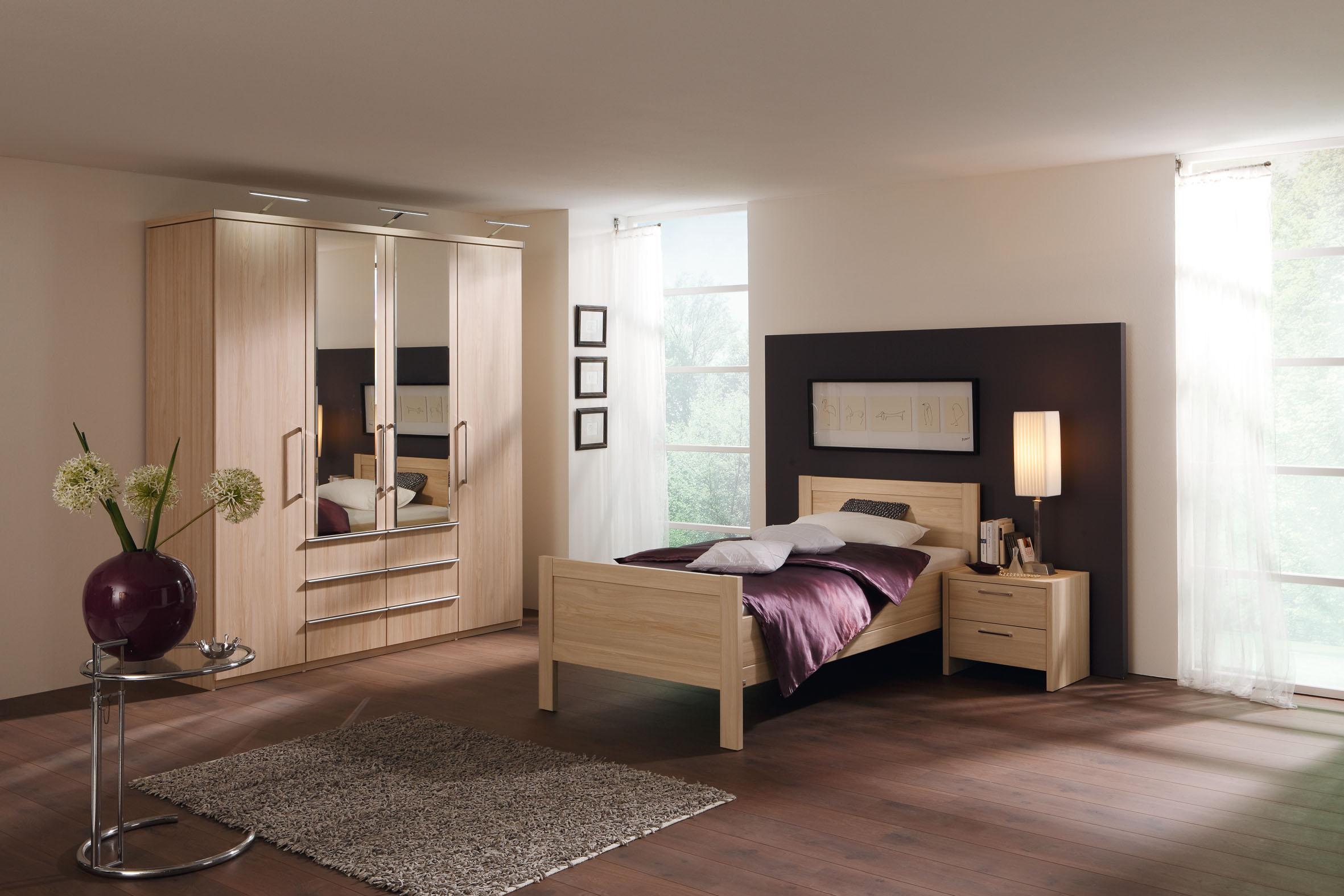 schlafzimmer turin von nolte delbrück in weiß ahorn. möbel letz