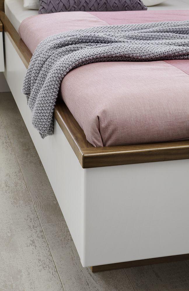 Schlafzimmer Cloud 7 von Disselkamp in Walnuss crema. Möbel Letz ...