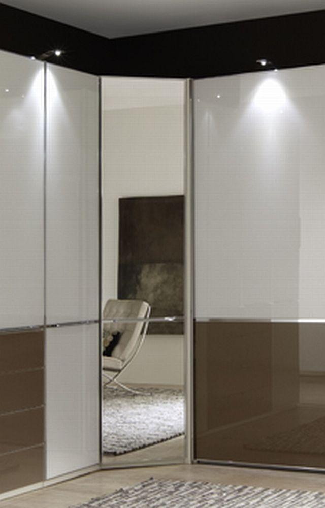 eck kleiderschrank shanghai von wiemann wei glas sahara m bel letz ihr online shop. Black Bedroom Furniture Sets. Home Design Ideas