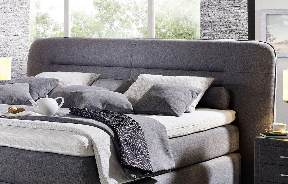 boxspringbett belcanto surpreme von oschmann in hellgrau m bel letz ihr online shop. Black Bedroom Furniture Sets. Home Design Ideas