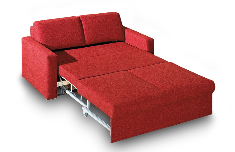 Restyl esther schlafsofa in rot l m bel letz ihr online shop for Schlafcouch rot