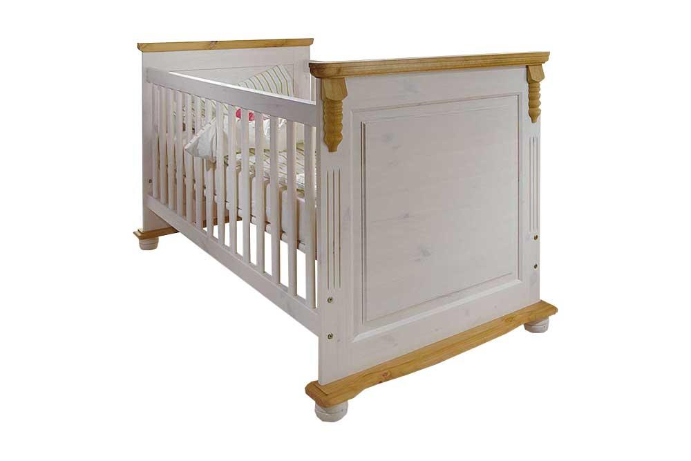 Infanskids romantik babyzimmer kiefer massiv m bel letz ihr online shop - Babyzimmer romantik ...
