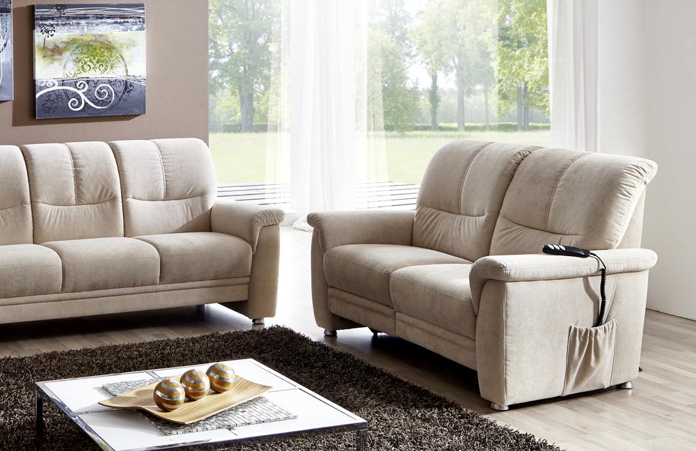 gruber polstergarnitur hamburg in beige m bel letz ihr online shop. Black Bedroom Furniture Sets. Home Design Ideas