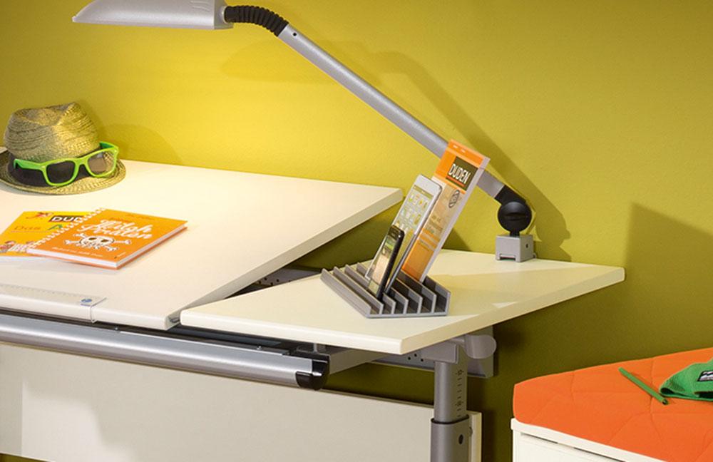 schreibtisch in ecru h henverstellbar marco 2 gt von paidi m bel letz ihr online shop. Black Bedroom Furniture Sets. Home Design Ideas