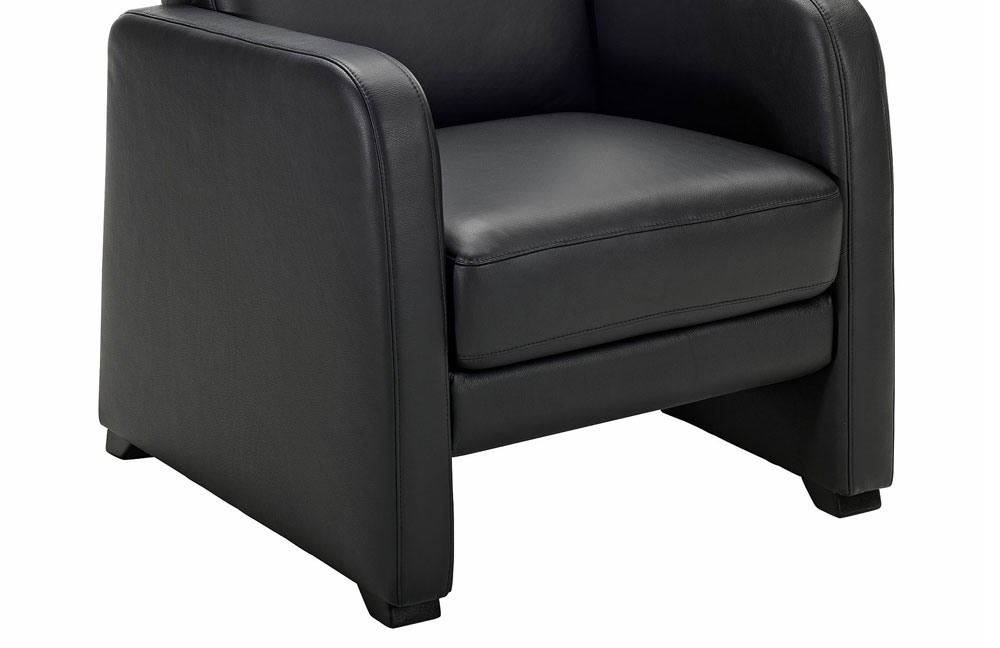 arco polsterm bel 8242 relaxsessel schwarz m bel letz ihr online shop. Black Bedroom Furniture Sets. Home Design Ideas