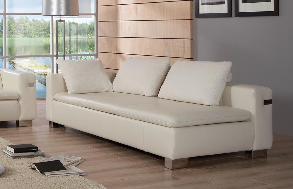 pm oelsa almera echtledersofas in creme m bel letz ihr online shop. Black Bedroom Furniture Sets. Home Design Ideas