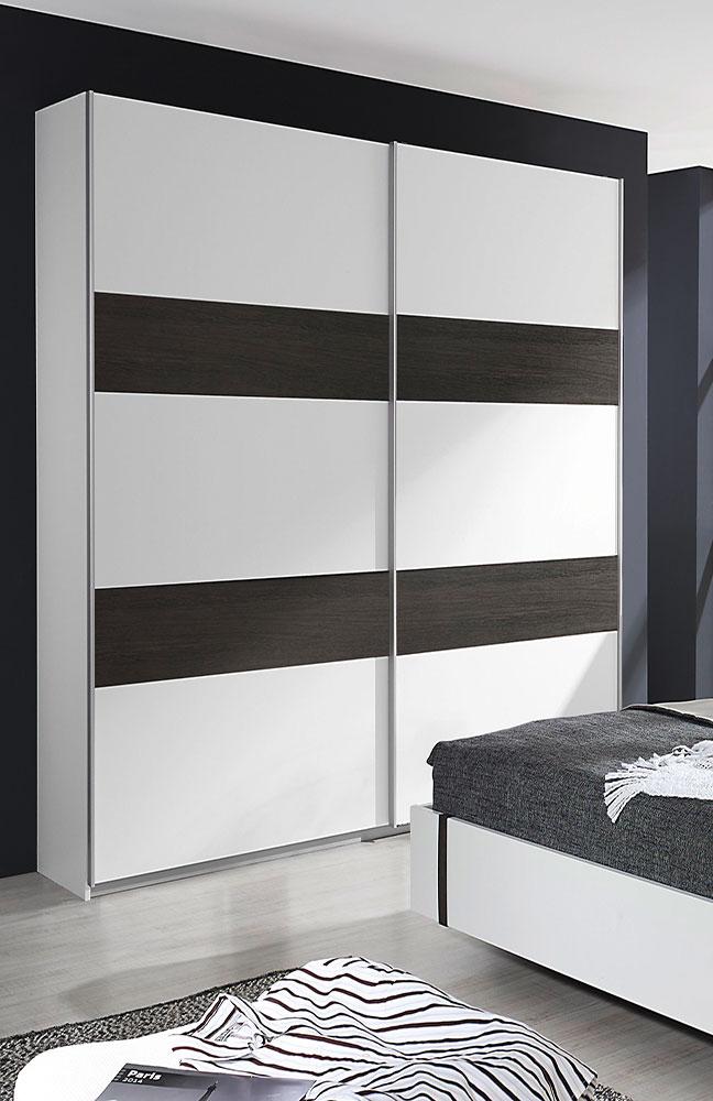 schlafzimmer calvia von rauch pack 39 s wenge shiraz kunstleder wei m bel letz ihr online shop. Black Bedroom Furniture Sets. Home Design Ideas