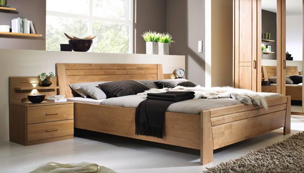 schlafzimmer sitara von rauch steffen erle natur m bel letz ihr online shop. Black Bedroom Furniture Sets. Home Design Ideas