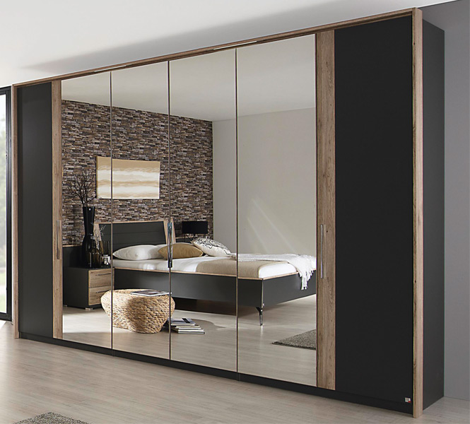 schlafzimmer serena von rauch dialog in graphit eiche sanremo m bel letz ihr online shop. Black Bedroom Furniture Sets. Home Design Ideas