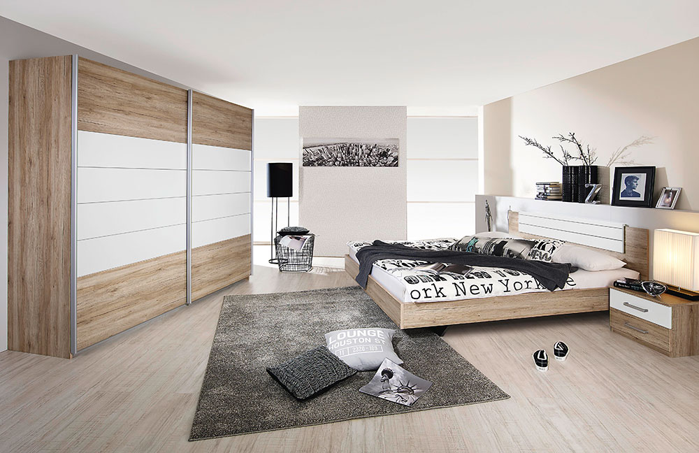 rauch barcelona schlafzimmer set m bel letz ihr online. Black Bedroom Furniture Sets. Home Design Ideas