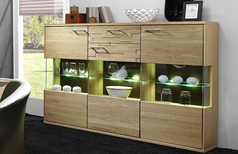 wohnwand natura v37 in asteiche von schr der wohnm bel. Black Bedroom Furniture Sets. Home Design Ideas