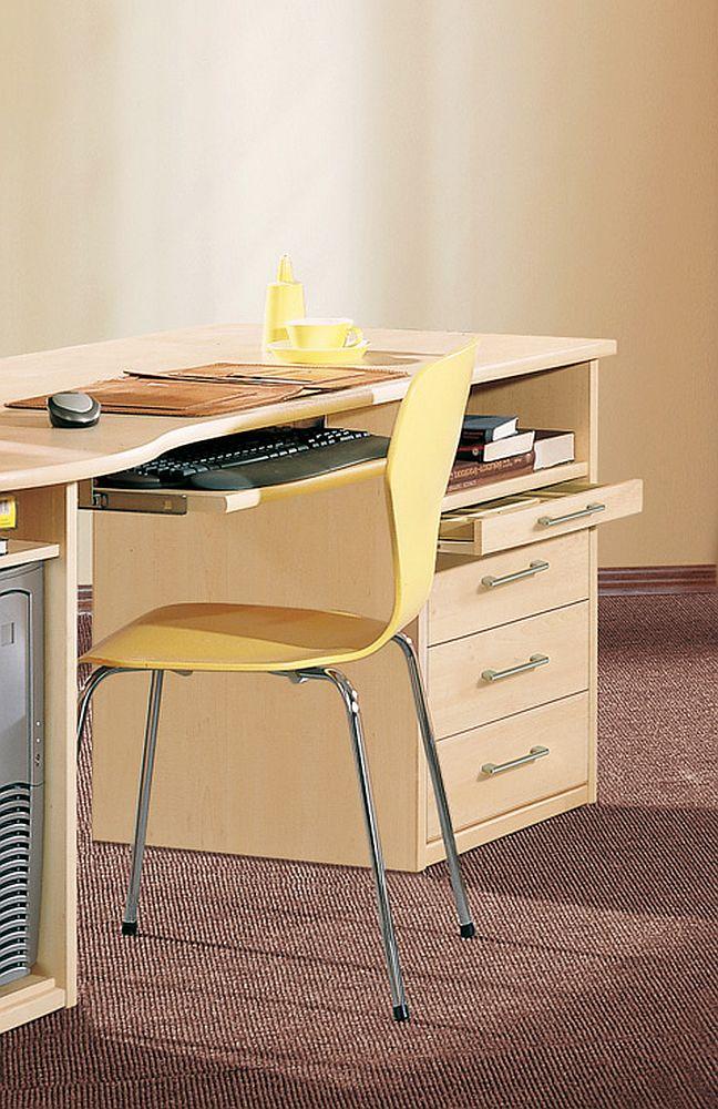 priess achat schreibtisch kombination ahorn m bel letz. Black Bedroom Furniture Sets. Home Design Ideas