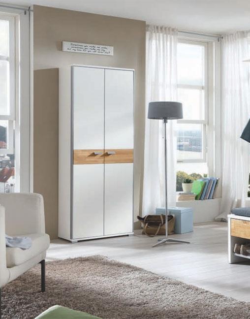 garderobe viola lack wei eiche von voss m bel m bel. Black Bedroom Furniture Sets. Home Design Ideas