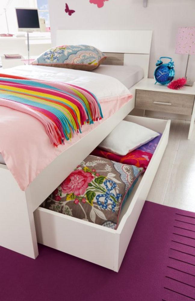 jugendzimmer mit bett und schrank vegas plus von r hr bush m bel letz ihr online shop. Black Bedroom Furniture Sets. Home Design Ideas