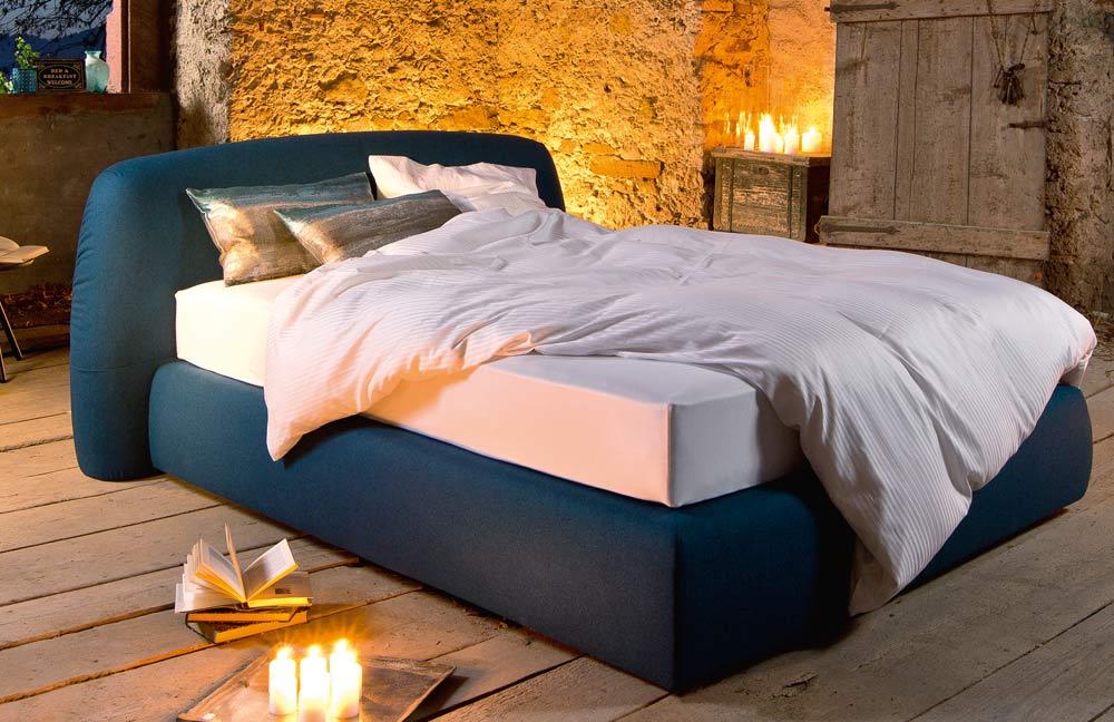 ruf betten boxspringbett primero in petrol m bel letz. Black Bedroom Furniture Sets. Home Design Ideas