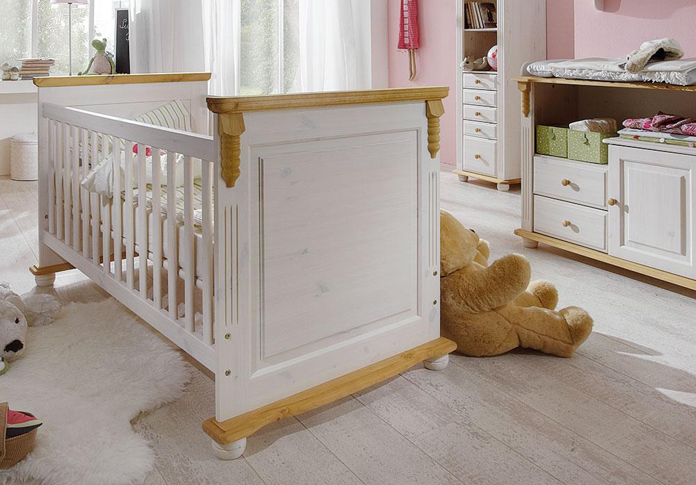 pure natur babyzimmer kiefer massiv weiß. | möbel letz - ihr