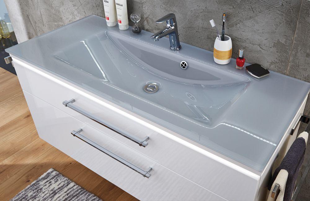 badezimmer cool line in wei von puris m bel letz ihr. Black Bedroom Furniture Sets. Home Design Ideas