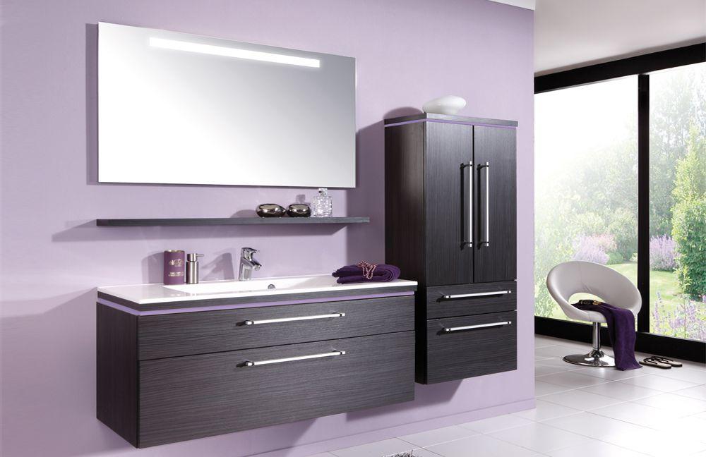 badezimmer cool line in hacienda schwarz von puris m bel. Black Bedroom Furniture Sets. Home Design Ideas