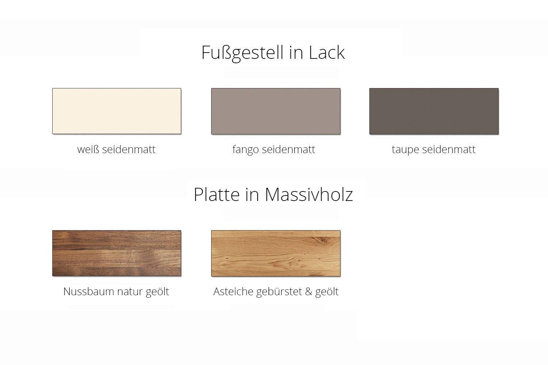 Couchtisch Solid von Gwinner Wohndesign  Möbel Letz  Ihr