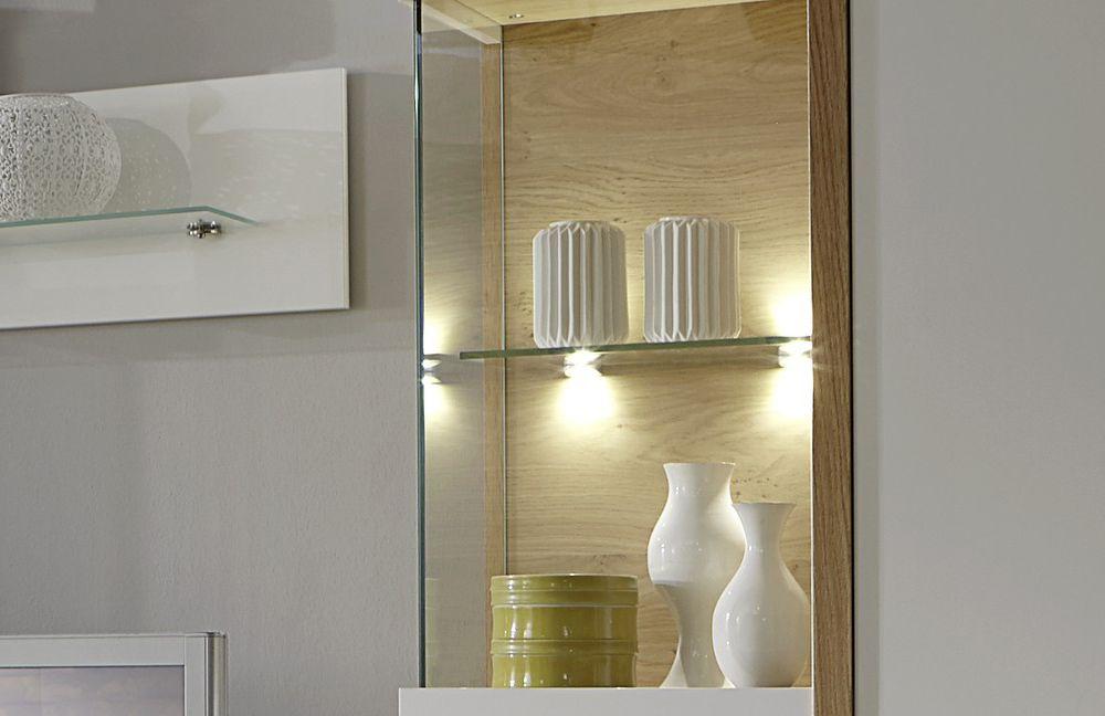 Wohnwand Dubai 1 Weiss von Domina Möbel  Möbel Letz - Ihr ...