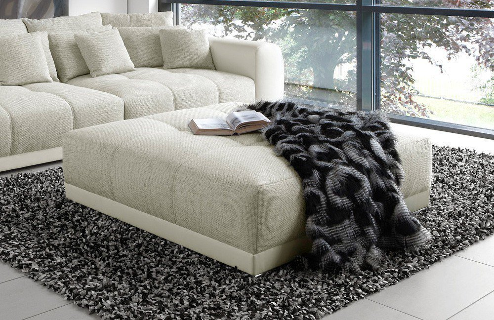 samy big sofa in beige wei von jockenh fer m bel letz ihr online shop. Black Bedroom Furniture Sets. Home Design Ideas