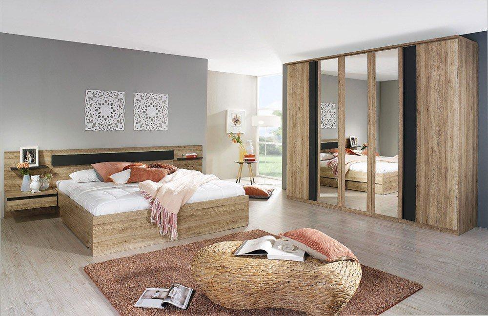 Schlafzimmer Mara Rauch Eiche Sanremo Hell | Möbel Letz - Ihr