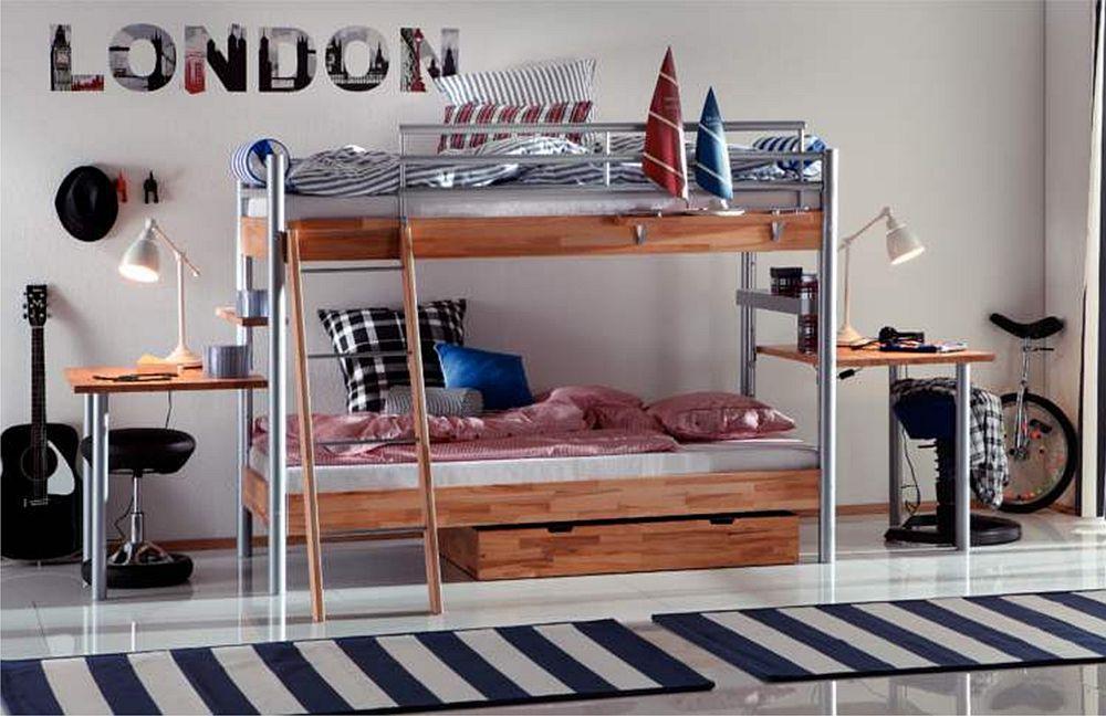 hasena space concept midi 304 etagenbett m bel letz ihr online shop. Black Bedroom Furniture Sets. Home Design Ideas