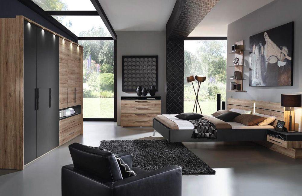 Rauch Manila Schlafzimmer Eiche schwarz | Möbel Letz - Ihr Online-Shop