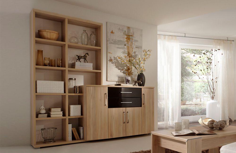 wohnwand milano plus patrick 3270 von prenneis m bel letz ihr online shop. Black Bedroom Furniture Sets. Home Design Ideas