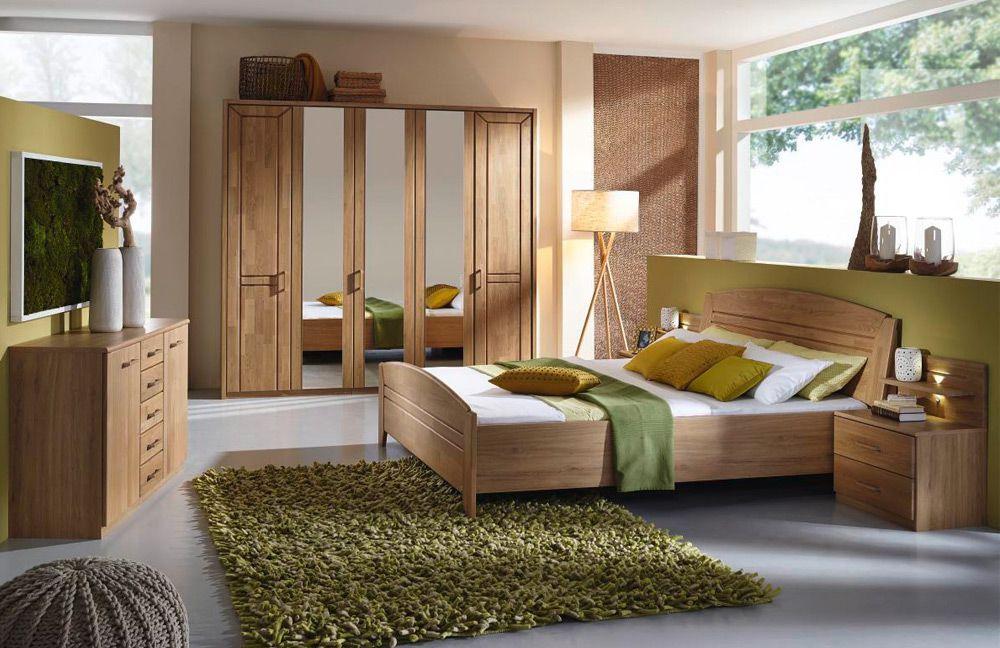 Schlafzimmer Natur : Rauch Silvana Schlafzimmer Wildeiche natur  Möbel Letz  Ihr Online