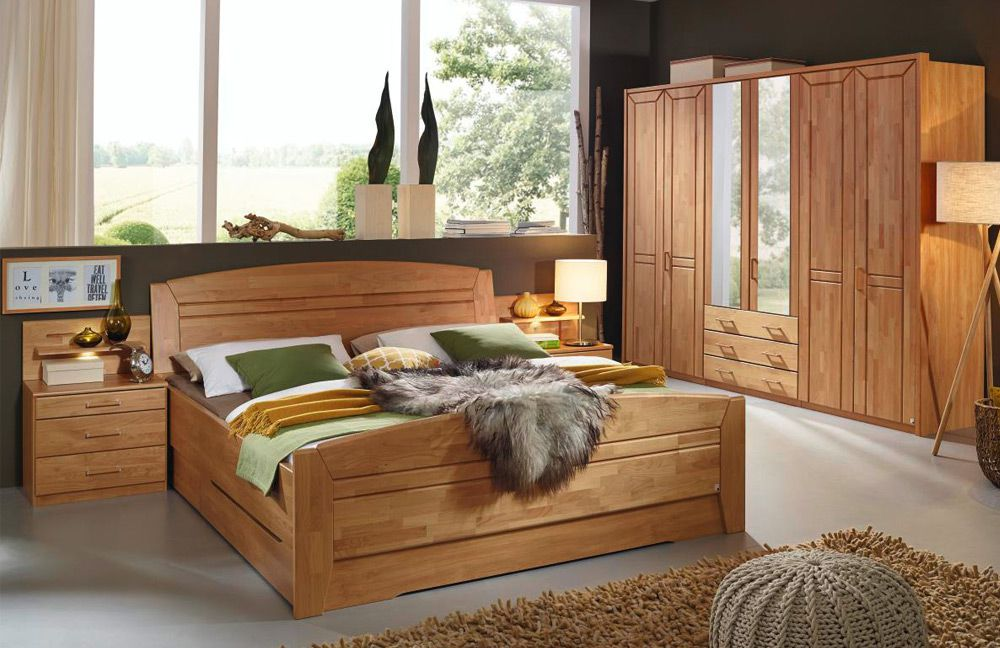 rauch silvana schlafzimmer erle natur m bel letz ihr. Black Bedroom Furniture Sets. Home Design Ideas