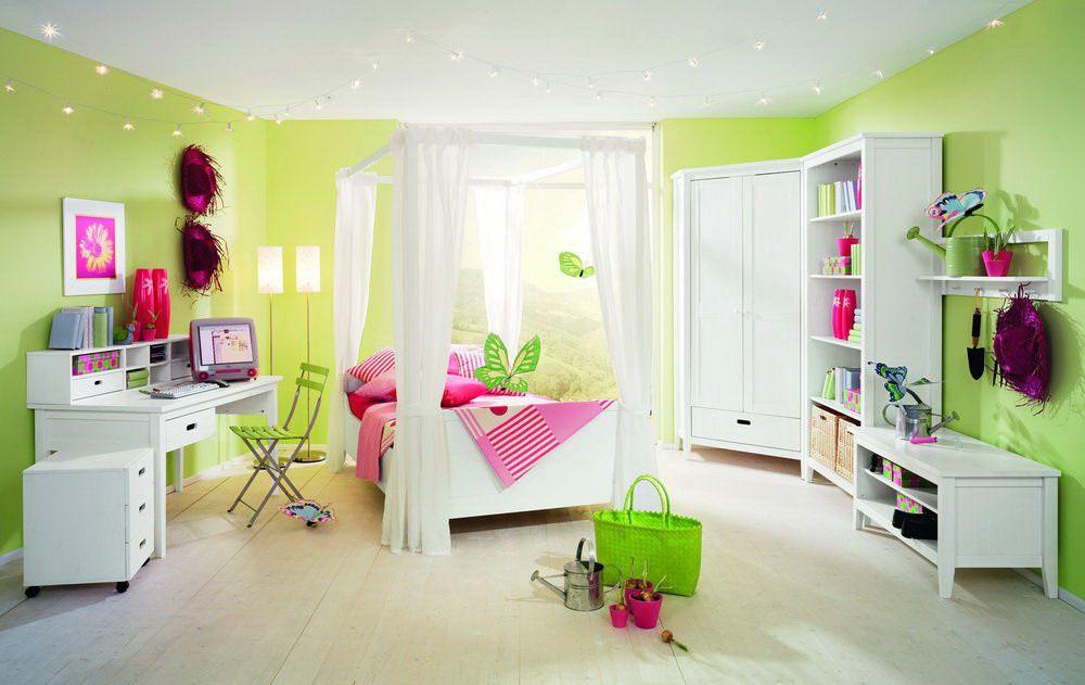 Cielo von Wellemöbel - Kinderzimmer Kiefer massiv weiß 3