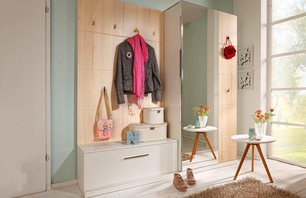 Garderobe estoril plus picton in wei apfelbaum von for Garderobe planen